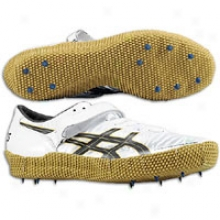 Asics Cyber Capital Jump London Lft - Mens - White/black/gold