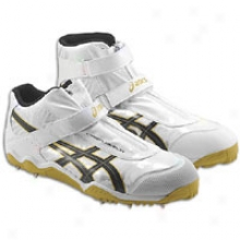 Asics Cyber Javelin London - Mens - White/blacj/gold