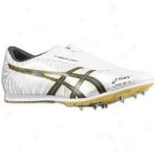 Asics Cyber Jump London - Mens - White/black/gold