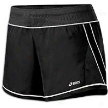 Asics Everysport Short - Womens - Black/white