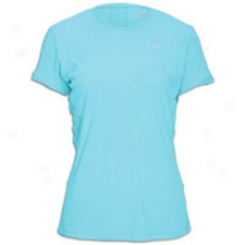 Asics Favorite S/s T-shirt - Womens - Aqua