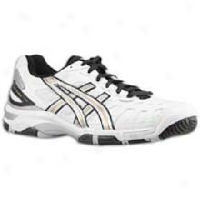 Asics Gel Game 3 - Mens - White/silver/black