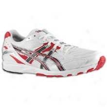 Asics Gel Hyper Speed 4 - Mens - White/black/red