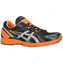 Asics Gel-hyper Speed 5 - Mens - Black/lightning/flash Orange