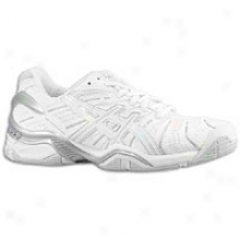 Asics Gel Resolution 4 - Womens - Whife/silver