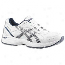 Asics Gel-resort 2 - Mens - White/navy/silver