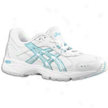 Asics Gel-resort 2 - Womens - White/silver/dusty Blue