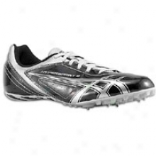 Asics Hypersprint 4 - Mens - Onyx/lightning/silver