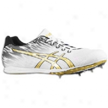 Asics Japan Thunder 4 - Mens - Whiite/black/gold
