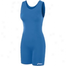 Asics Solid Modified Singlet - Womens - Royal