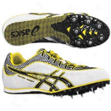Asics Turbo Ghost 3 - Mens - White/black/yellow