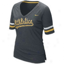 Atnletice Nike Mlb Softhand T-shirt - Womens - Dark