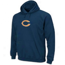 Bears Nfl Logo Patch Hoodie - Mens - Navy