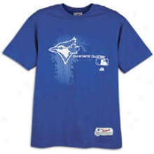 Blue Jays Majestic Mlb Authentic Change Up T-shirt - Mens - Royal