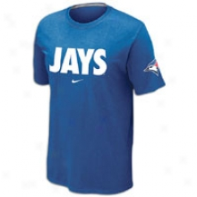 Blue Jays Nike Mlb Local T-shirt 12 - Mens - Royal