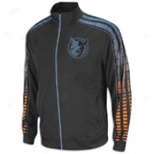 Bobcats Adidas Nba Vibe Track Jacket - Mens - Black