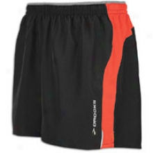 "Brolks 5"" Essential Break through Short - Mens - Black/power Red"
