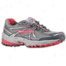 Brooks Adrensline Asr 8 - Womenw - Cerise/viola/anthracite/river Rock/silr
