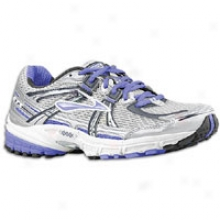 Brooks Adrenaline Gts 11 - Womens - Silver/anthracite/blue Iris/silver