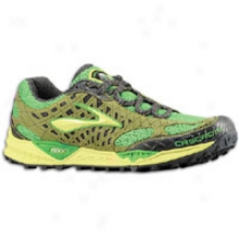 Brooks Cascadia 7 - Mens - Woodbine/sulphur Spring/speed Geeen/anthracite