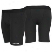 "Brooks Equilibrium Core 8"" Short Tight - Mens - Black"