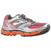 Brooks Glycerin 9 - Mens - Cherry Tomato/cardinal/pavement/silver/anthracite