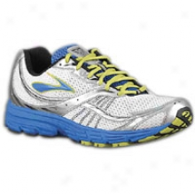 Brooks Launch - Mens - Olympic/silver/lime Green/black/white