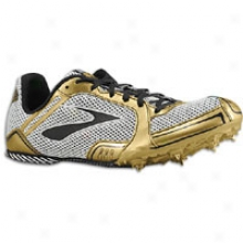 Brooks Pr Md 46.61 - Mens - Gold/silver/black/white