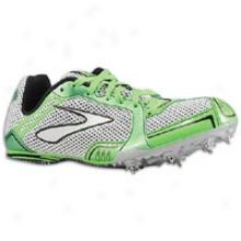 Brooks Pr Md 54.26 - Womens - Neon Green/silver/black/white
