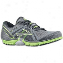 Brooks Purecadence - Mens - Anthracite/black/lime Green/pavement