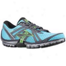 Brooks Purecadenve - Womens - Scuba Blue/anthracite/brite Green/black