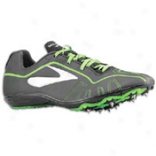 Brooks Qw-k - Mens - Black/brooks Brite Green/silver/white