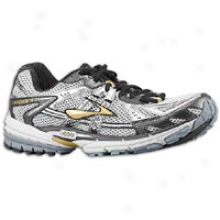 Brooks Ravenna 2 - Mens - White/black/gold/silver/pavement