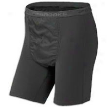Brooks Therma1 Wind Boxer - Mens - Black