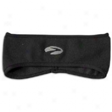 Brooks Wanganui Fleece Headband - Mens - Black
