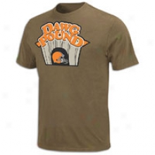 Brpwns Nfl Inside Line T-shirt - Mens - Brown