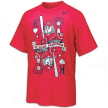 Cardinals Nike Mlb Kings Of Baseball T-shirt - Mens - Red