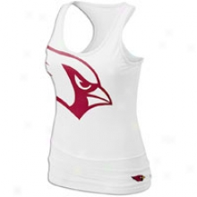 Cardinals Nike Nfl Big Logo Tank - Womens - White