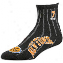 Carmelo Anthony For Poor Feet Nba Logoman Socks - Black