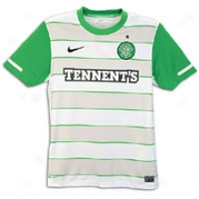 Celtic Nike Soccer Club Replica Jersey - Mens - White/victory Green/black