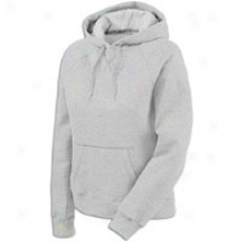 Defender Fleece Hoodie - Womens - Oxford Grey