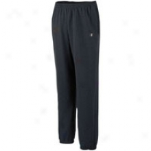 Champion Open Bottom Fleece Pnt - Mens - Black