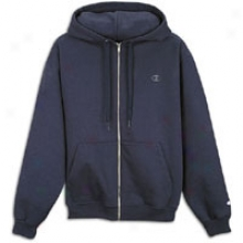 Champion Super Hood Full Zip - Mens - Navy