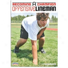 Championship Productions Comely A Champion Lineman Dv d- Mens