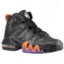 Charles Barkley Nike Air Max Barkley - Big Kids - Black/safety Orange/pure Purple/black