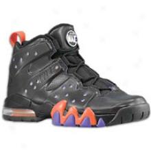 Charles Barkley Nike Air Max Barkley - Mens - Black/safety Orange/pure Purple/black