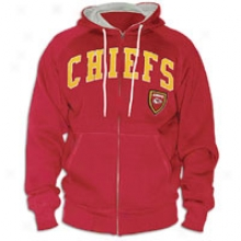 Chiefs G-iii Original Nfl Defend Full-zip Hoodie  -Mens - Red