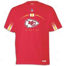 Chiefs Reebok Nfl Sideline Gun Show T-shirt - Mens - Red
