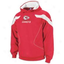 Chiefs Reebok Nfl Sideline Kockoff Hoodie - Mens - Red