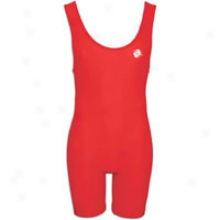 Clinch Gear Acting Wrestling Singlet - Big Kids - Red
